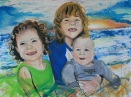 "Little Mynatts 36"" x 48"""