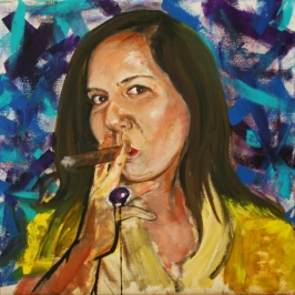 """Acrylic on Canvas 20""""x20"""""""