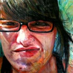 "Acrylic & Soft Pastel on Canvas 42""x60"""