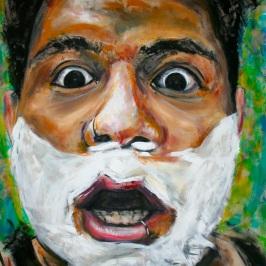 """Acrylic on Canvas 63""""x54"""""""